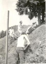 Gradnja vodovoda na Ermanoveec